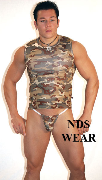 Desert Camo Men's G-String