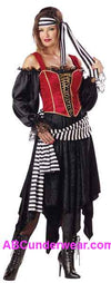 Deluxe Pirate Lady Costume