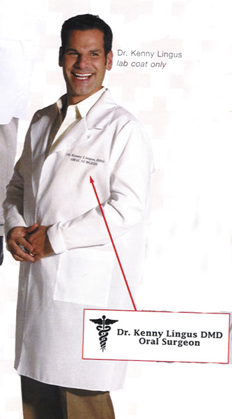 Dr. Kenny Lingus Lab Coat