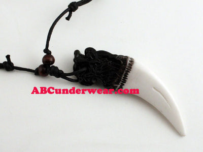 Dragon Head Tooth Necklace