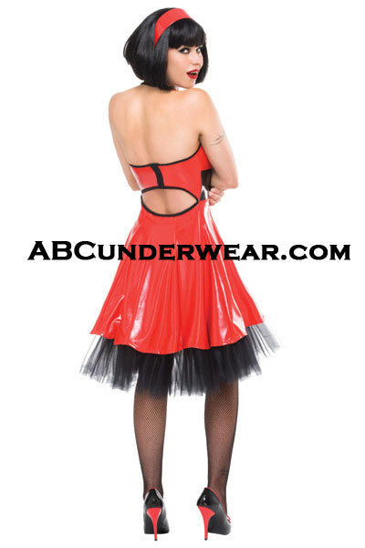 Womens Coquette Darque Dress W/ Halter Neck -Clearance