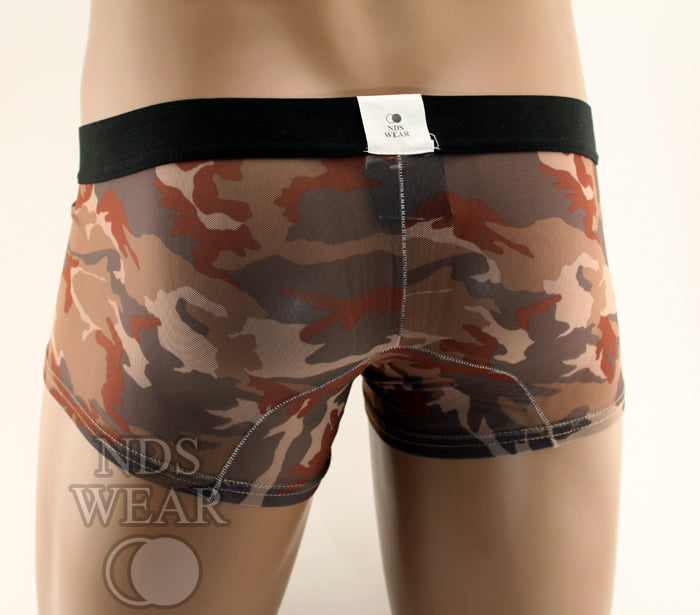 Desert Recon - Sheer Mens Underwear Trunk