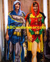 Batman and Robin Poncho Costume Lounge wear Dynamic Duo