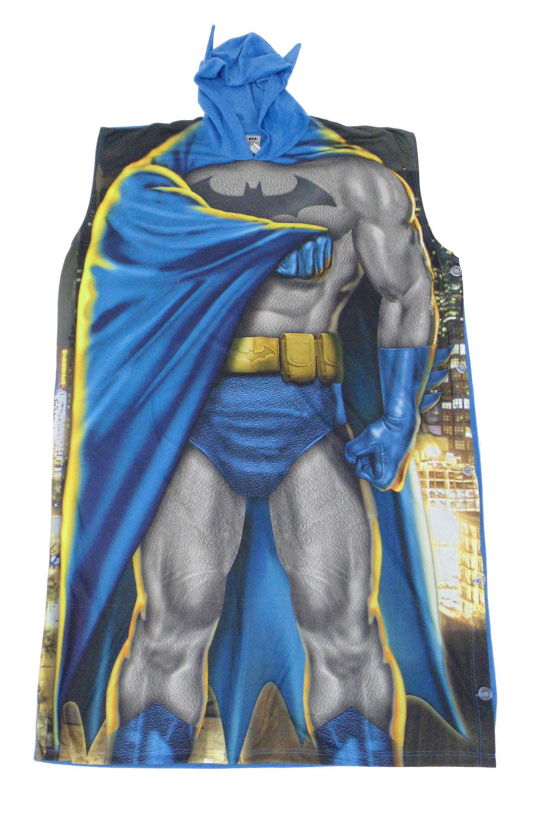 Batman and Robin Poncho Costume Lounge wear Dynamic Duo -Closeout