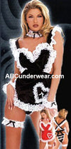 Adult Womens Costume Deluxe French Maid Costume -Clearance