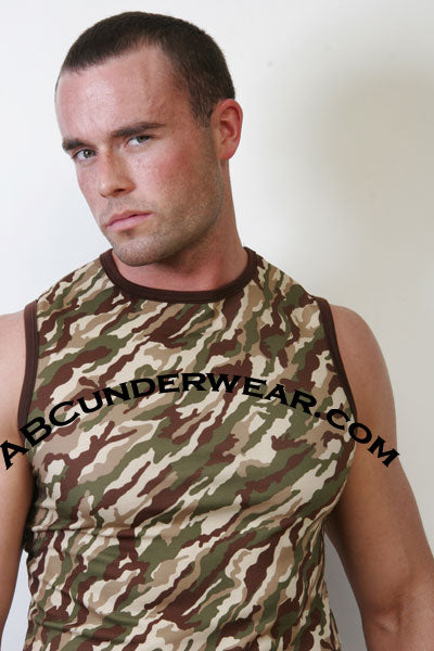 GO Camo Muscle Shirt Clearance