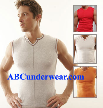 GO Sleeveless V-Tee Mens Clearance