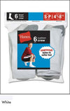 Hanes Boys Red Label Cushion Crew 6pk