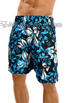 Uzzi Hawaiian Flower Print Board Short