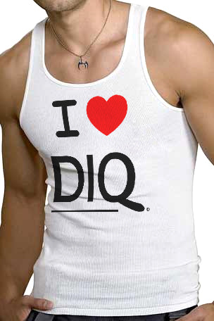 I [heart] DIQ ® Ribbed Tank Top