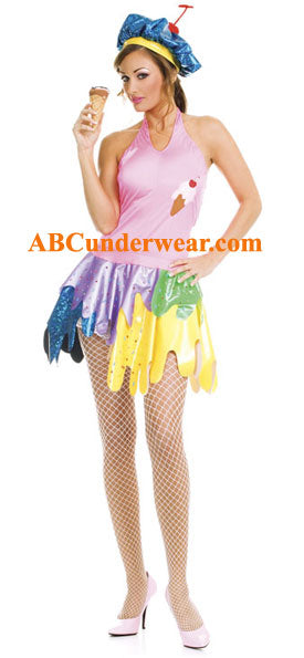 ICE CREAM GIRL COSTUME - Clearance