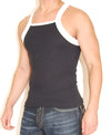 Romeo Square Cut Mens Tank Top -Closeout