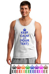 Keep Calm and (Blank) Loose Tank For Men