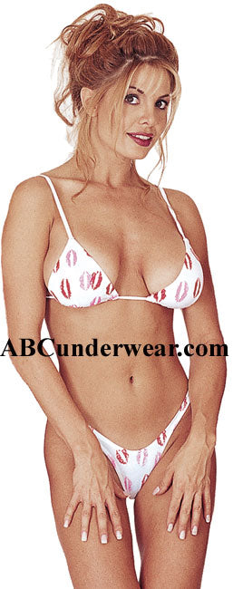 Kisses Bra & Thong Set - Clearance