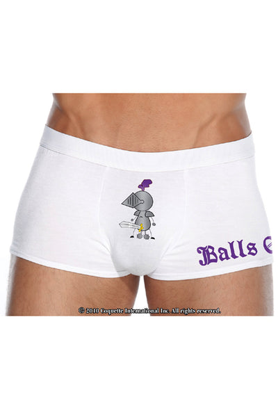 Balls of Steel Knight Boxer Brief - Closeout
