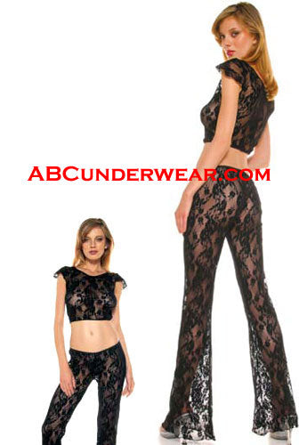 Lace Pant and Top Set
