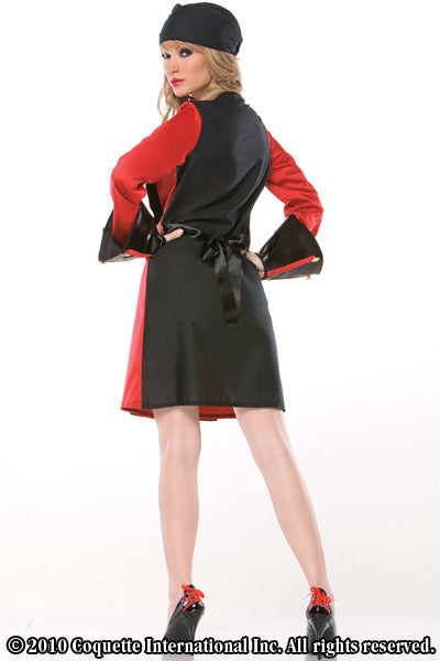 Ladies Pirate Jacket Costume