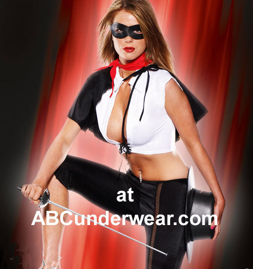 Sexy Masked Lady Costume - Clearance