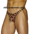 Cheetah Lace Thong
