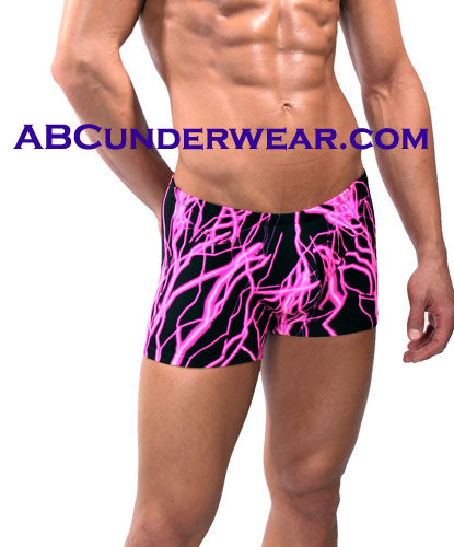 MalePower Lightning Men's Swimshort -Closeout