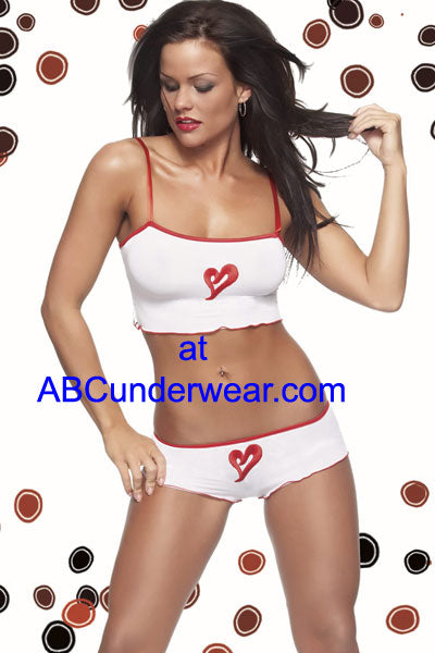 Heart Patch Cami and Short set
