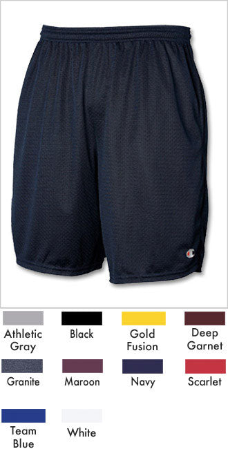 Champion Long Mesh Short with Pockets