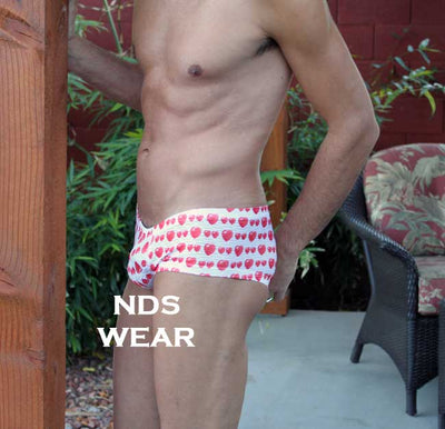 NDS Wear Low Rise Heart Short