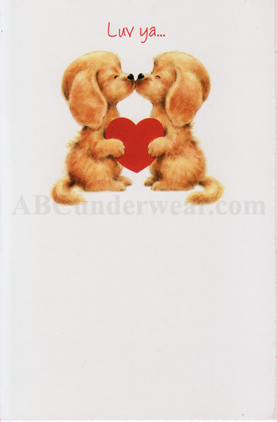 Luv Ya Valentines Day - Card