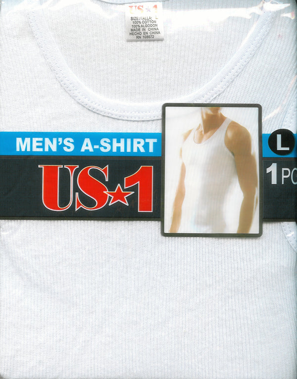 Men's A-Shirt Single Pack