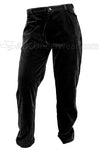 Mens Black Velvet Pants