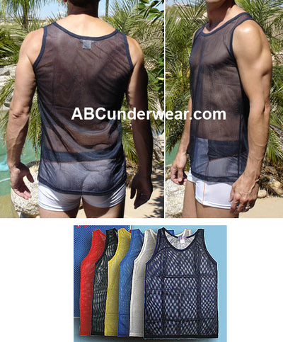 Men's Mesh A-Shirt 3 Pack
