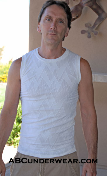 Static Mesh Muscle Shirt  XL Only - Closeout