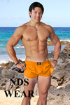 Retro Mesh Men's Side Split Short