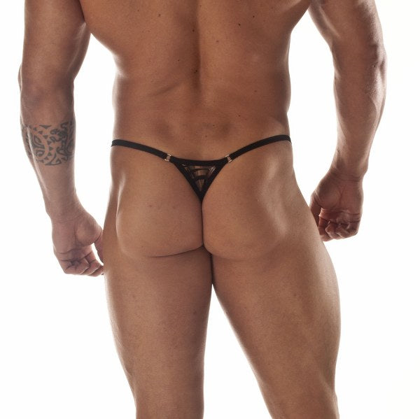 Metallic Tiger String Thong