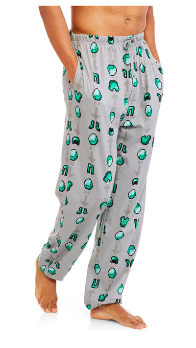 Mens Minecraft Lounge Pant -Closeout