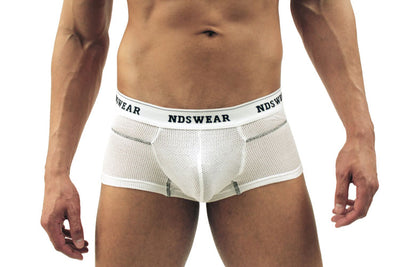 Mens Cotton Knitted Mesh Trunk By NDS Wear