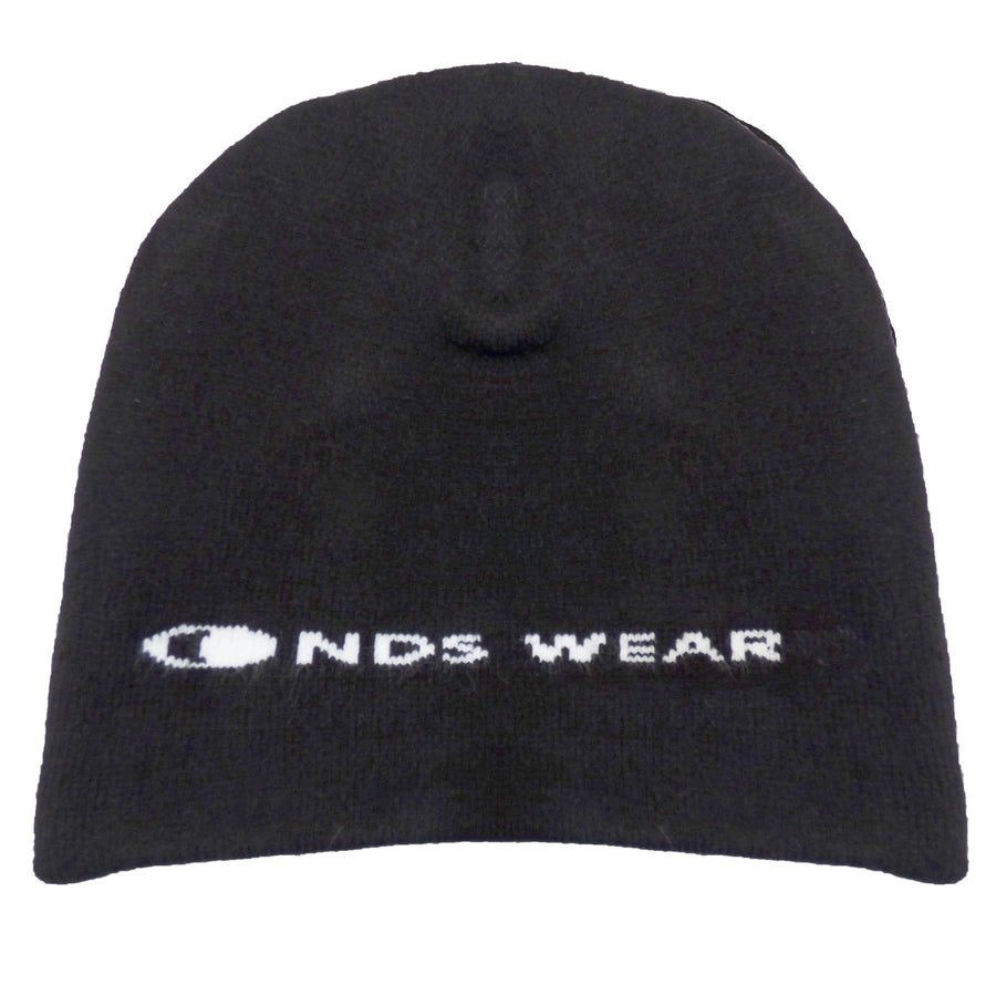 NDS Wear Black Premium Knit Beanie Cap, Men's Skull Cap Hat