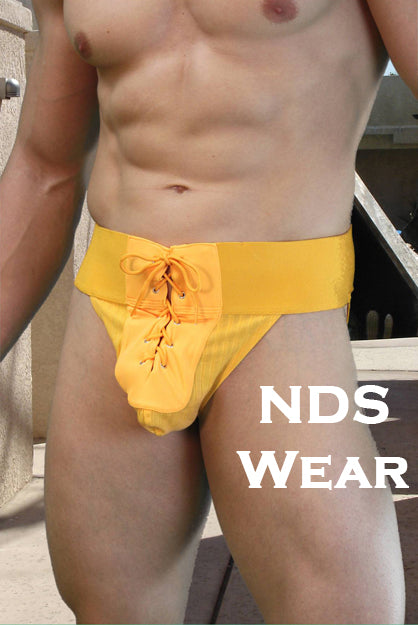 Lace-up Jockstrap Odysseus Roman Tie Jock by NDS Wear