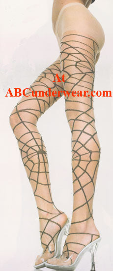 Women's Spiderweb Pantyhose