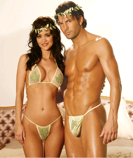Paradise Couples Set Underwear Costume