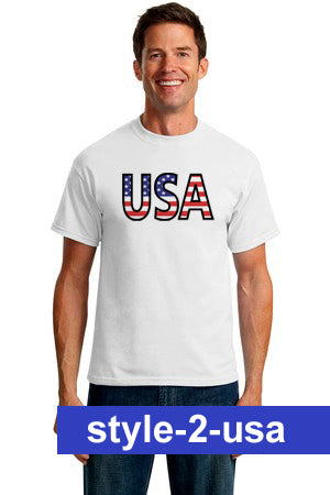Patriotic American T-shirts - Choose Your Design