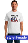 Patriotic American Mens T-shirts - Choose Your Design