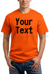 Personalized Orange T-Shirt, Halloween Shirt, Easy Costume