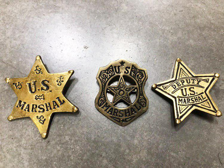 US Marshal Sheriff or Deputy US Marshall Badge