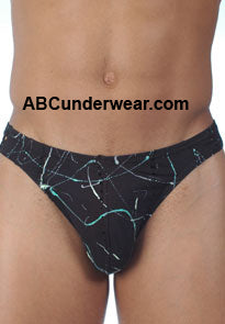 Gregg Picasso  Black Tanga - Clearance