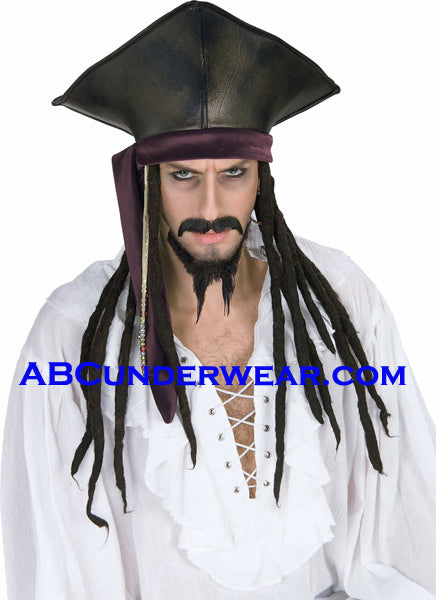 Pirate Hat with Dread Locks