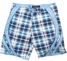 Men's Plaid Board Shorts