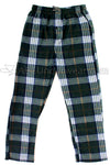 Mountain Cabin Plaid Fleece Pajama Pants - Evergreen