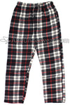 Mountain Cabin Plaid Fleece Pajama Pants - Fireside