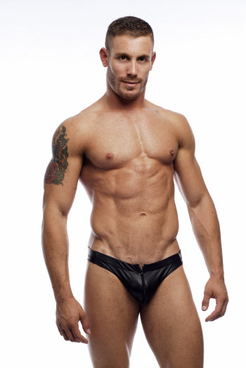 Go Softwear Pleather Zip Thong